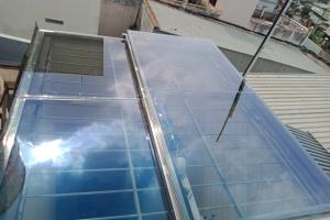 Công trình giếng trời tự động